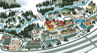 The VistaMap Town of Vail guest map is a prime example of detailed rendering, providing visual cues to enhance written information. copyright 2016 Gary Milliken / VistaMap
